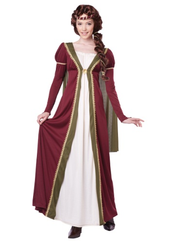 Womens Medieval Maiden Costume