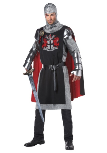 Click Here to buy Mens Medieval Knight Costume from HalloweenCostumes, USA Funds & Shipping