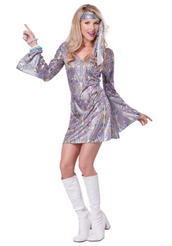 Womens Disco Sensation Dress