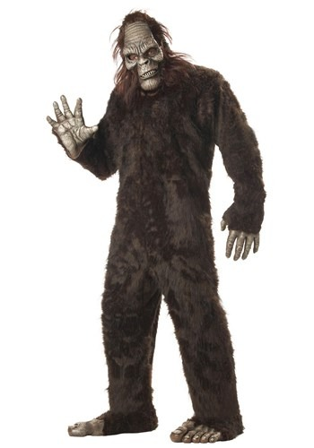Bigfoot Plus Size Costume ...  sc 1 st  Best Costumes for Halloween & Bigfoot Yeti Sasquatch Halloween Costumes Men or Boys