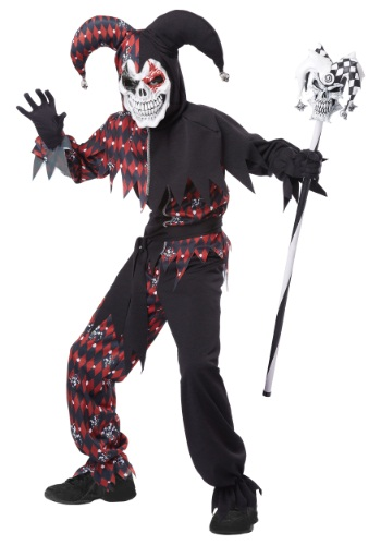 Childs Sinister Jester Costume