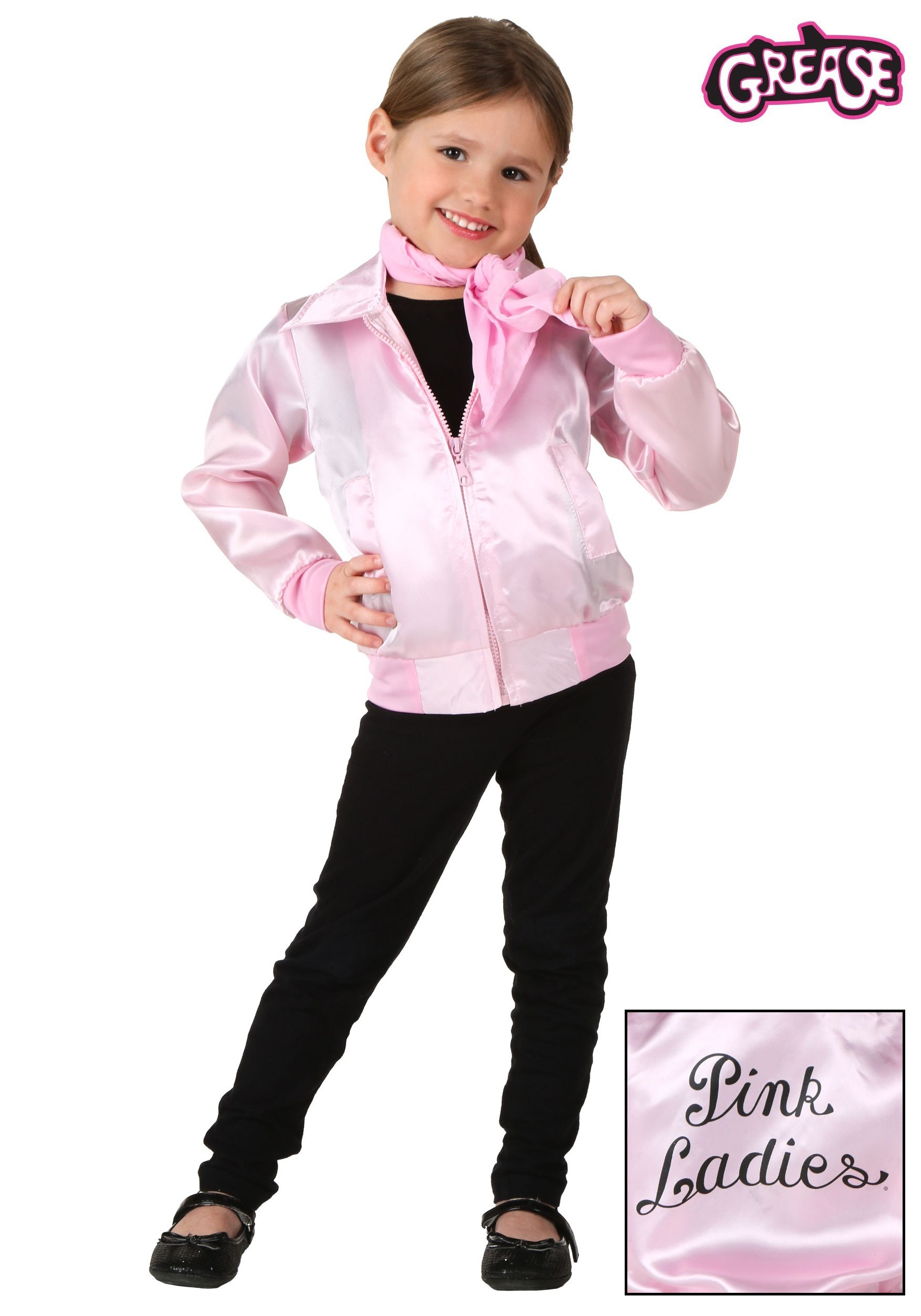 Toddler Grease Pink Ladies Jacket  sc 1 st  Halloween Costumes & Toddler Halloween Costumes - HalloweenCostumes.com
