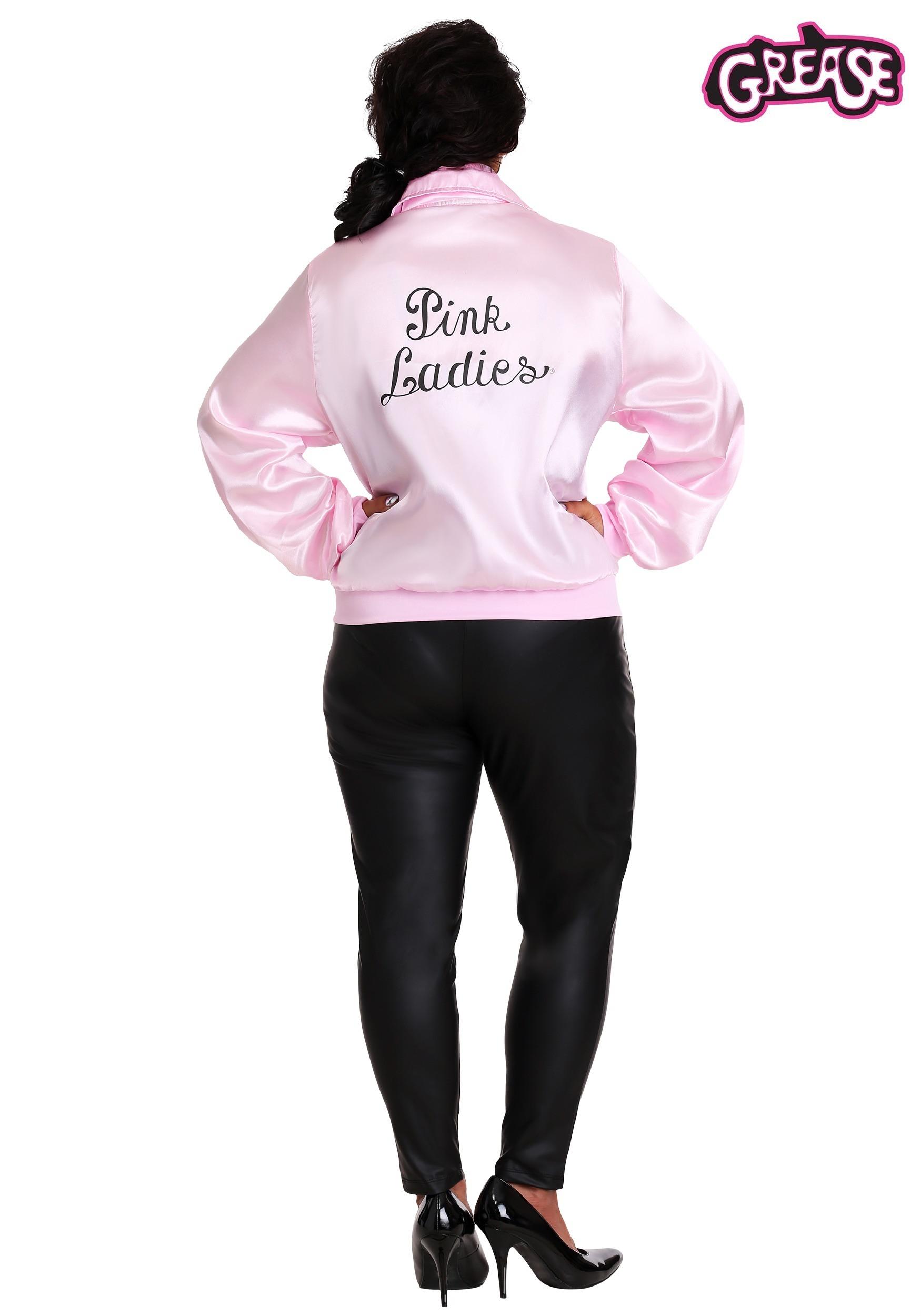 Plus Size Grease Pink Ladies Costume Jacket 1x 2x 3x 4x 5x 6x 7x