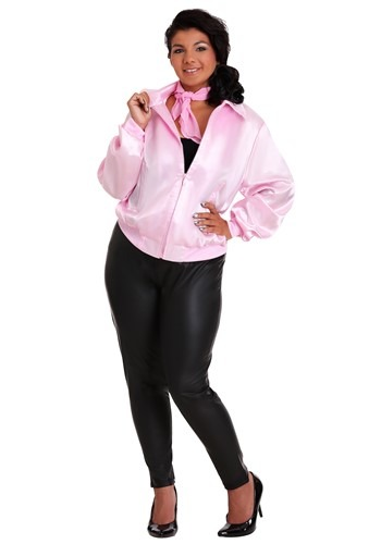 Grease Plus Size Pink Ladies Costume Jacket