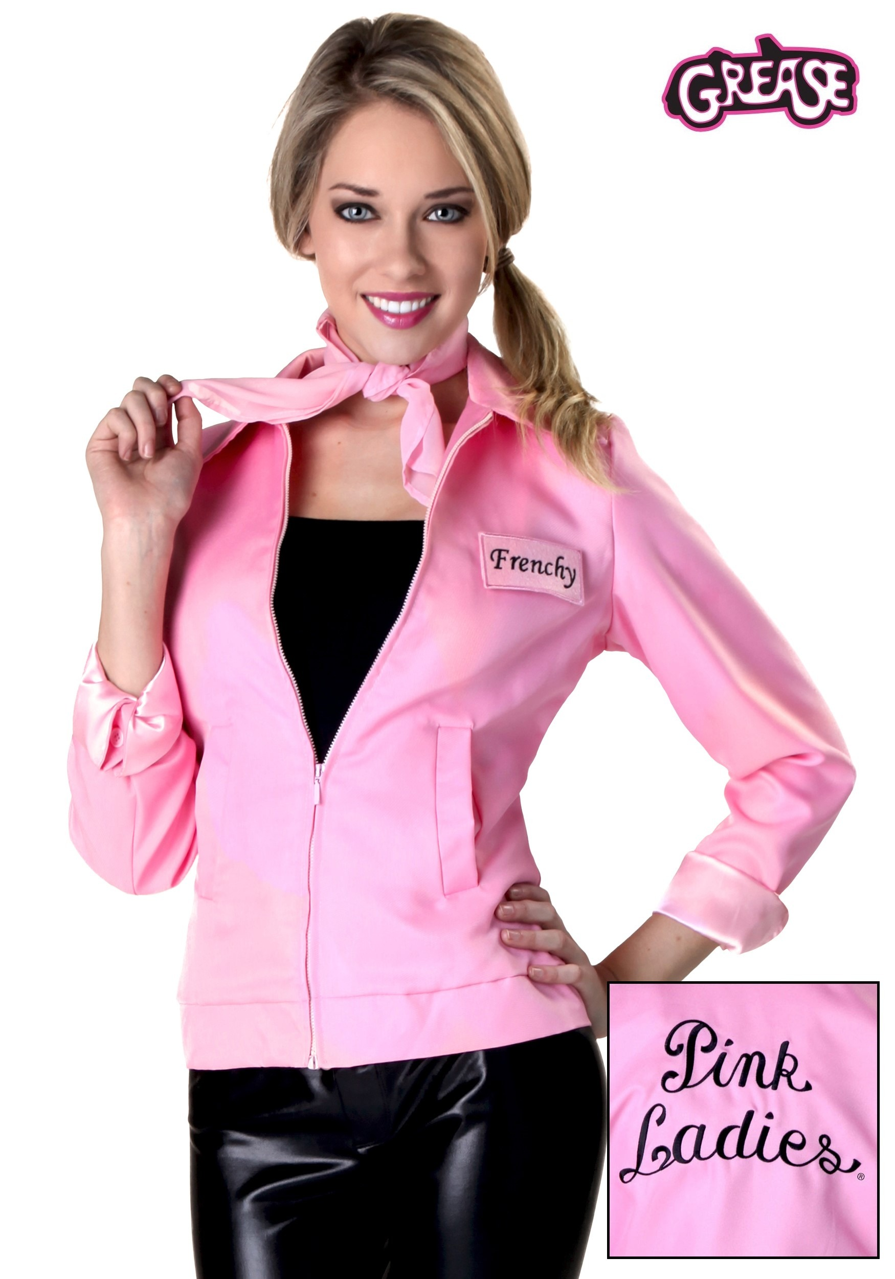 Authentic Grease Pink Las Jacket