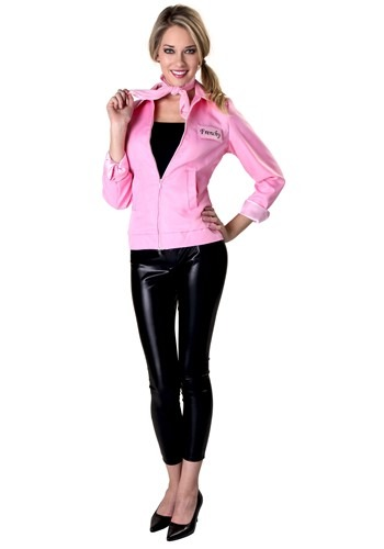 Authentic Grease Pink Ladies Jacket Costume