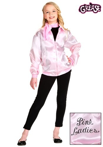 GIRL'S GREASE PINK LADIES COSTUME JACKET