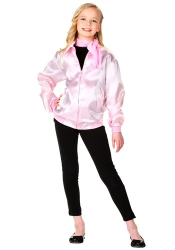 Grease Pink Ladies Costume Jacket for Kids