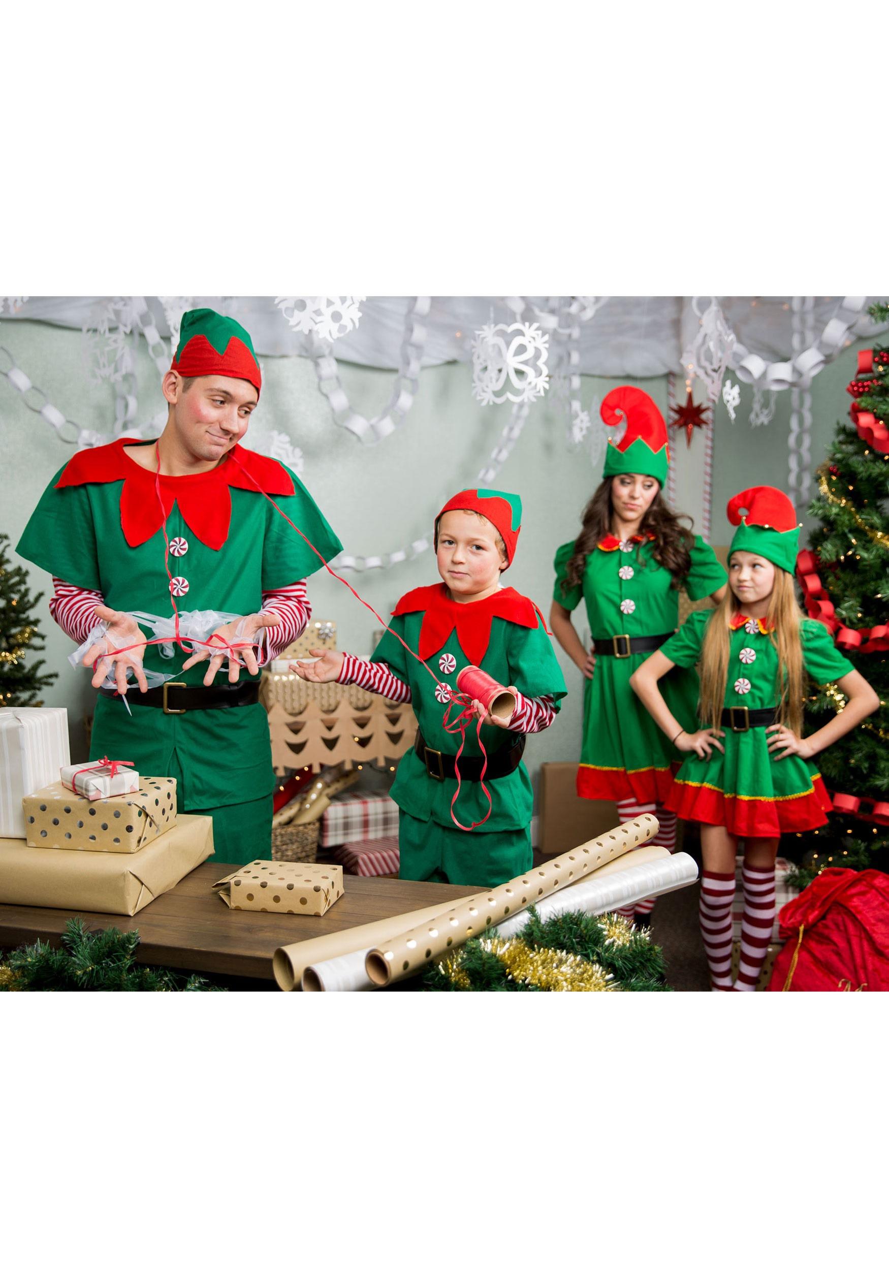 Plus Size Holiday Elf Costume 2x 3x 4x 5x