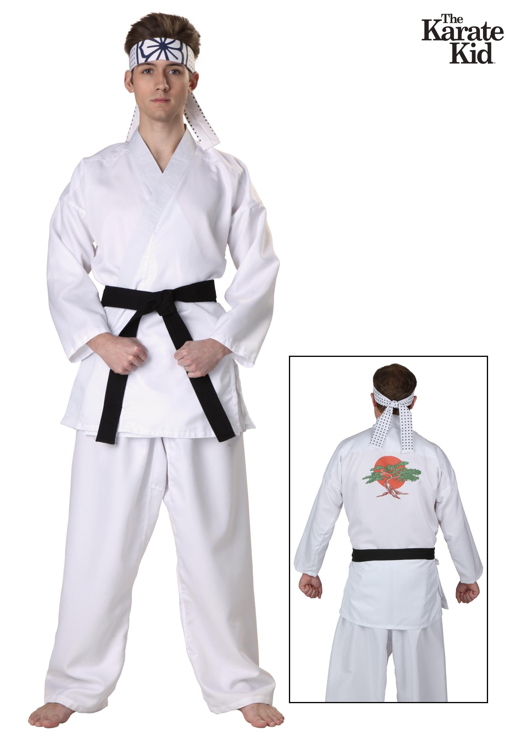 Karate kid cobra kai costumes halloweencostumes karate kid daniel san costume solutioingenieria Gallery