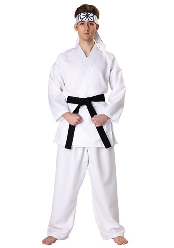 Click Here to buy Karate Kid Daniel San Costume from HalloweenCostumes, USA Funds & Shipping