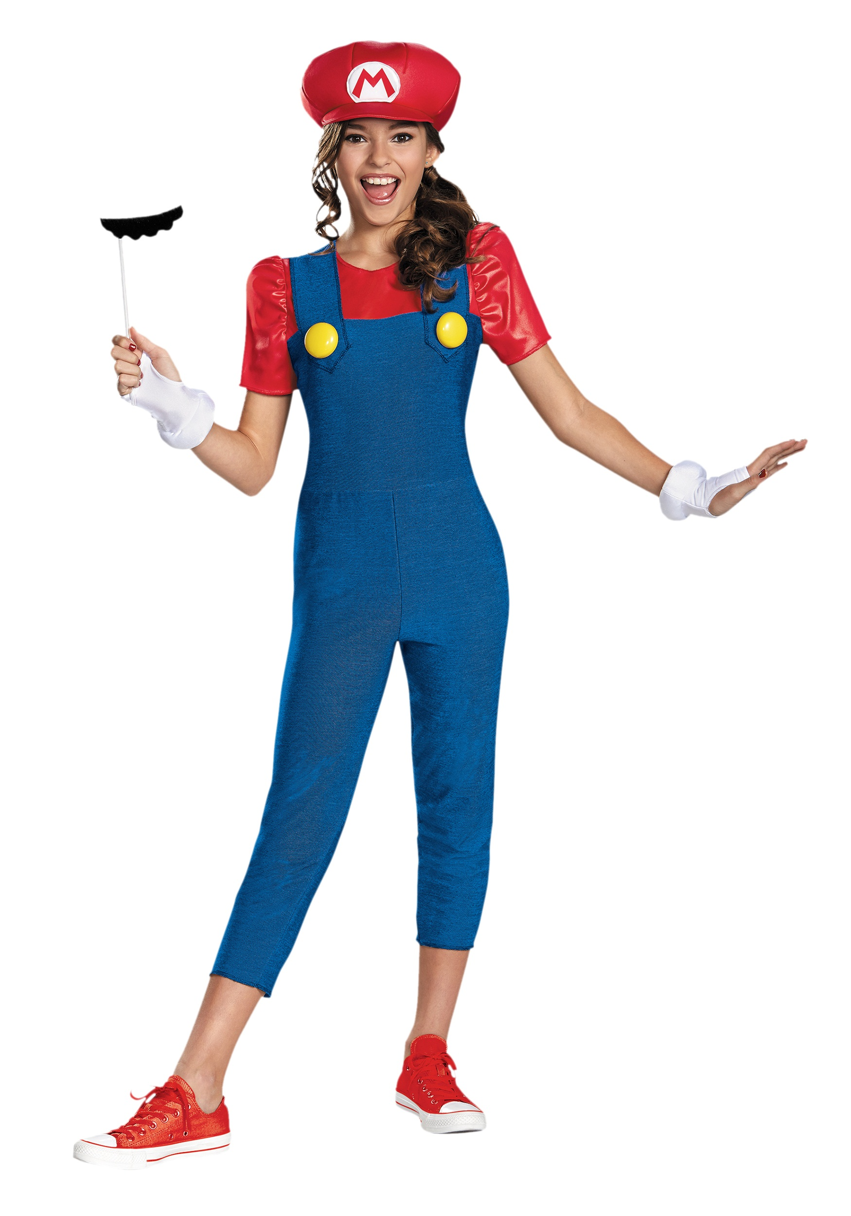 sc 1 st  Halloween Costumes & Tween Girls Mario Costume
