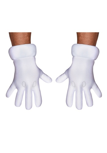 Click Here to buy Adult Super Mario Hands from HalloweenCostumes, USA Funds & Shipping
