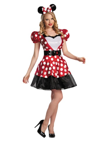 Click Here to buy Red Glam Minnie Mouse Costume from HalloweenCostumes, CDN Funds