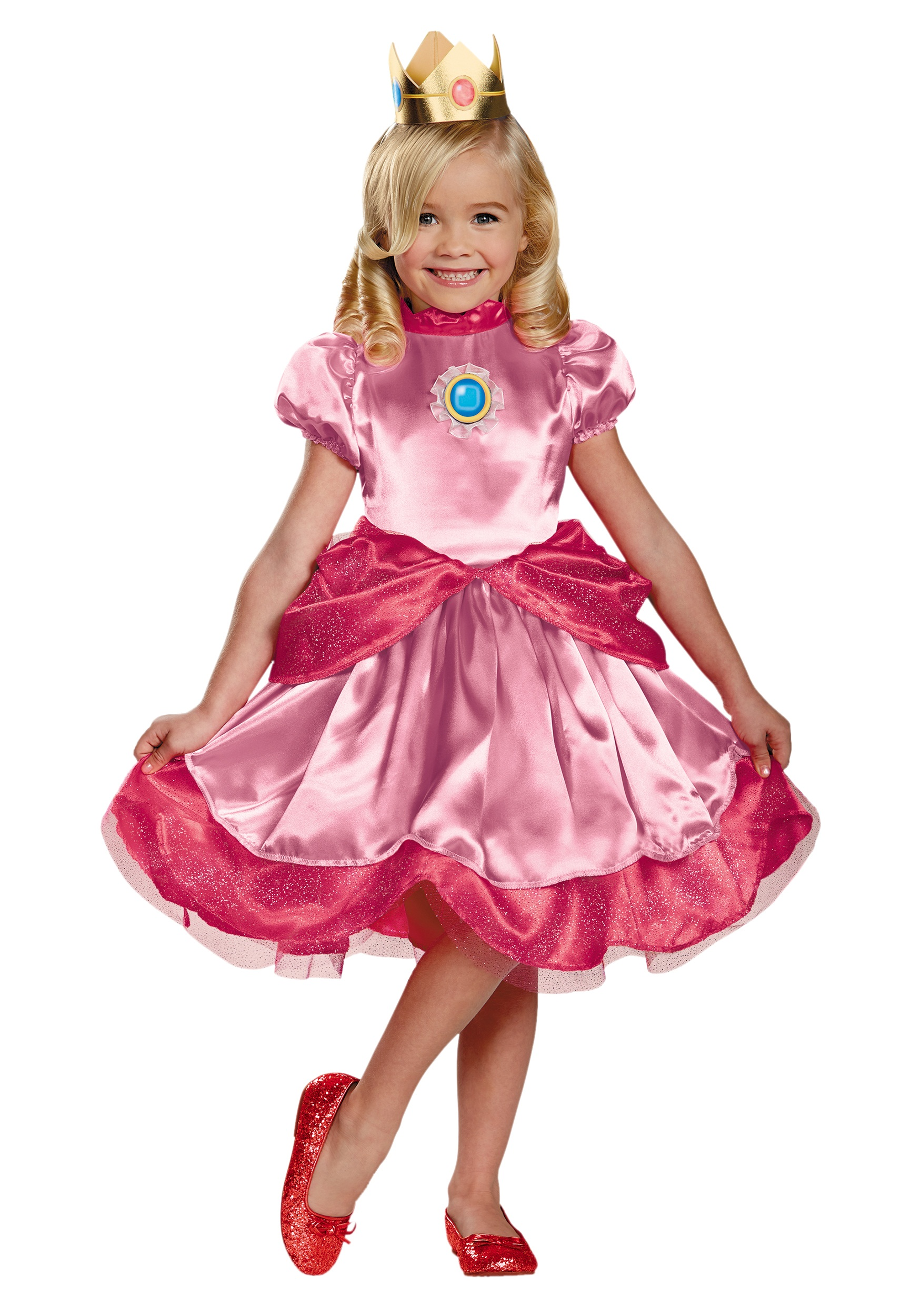 sc 1 st  Halloween Costumes & Toddler Princess Peach Costume