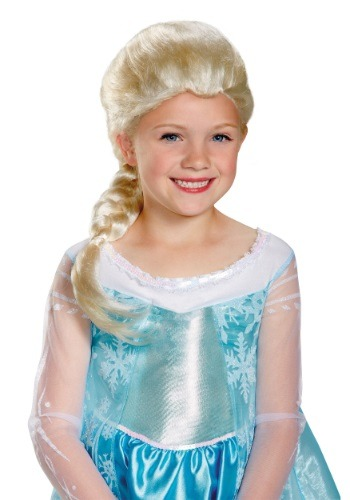 Click Here to buy Girls Frozen Elsa Wig from HalloweenCostumes, CDN Funds