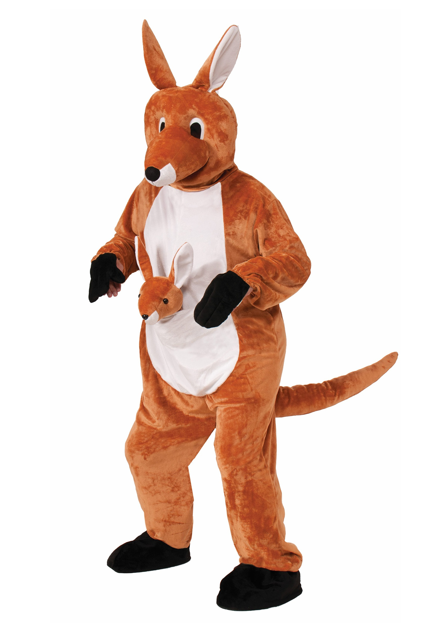 Jumpin Jenny Kangaroo Mascot Costume  sc 1 st  Halloween Costumes : cheap mascot costumes for kids  - Germanpascual.Com