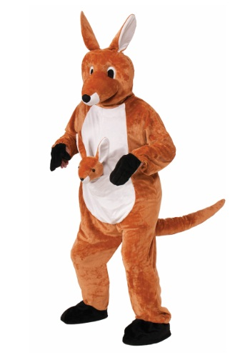 Click Here to buy Jumpin Jenny Kangaroo Mascot Costume from HalloweenCostumes, USA Funds & Shipping