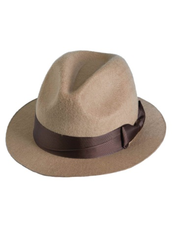 Click Here to buy Tan Fedora from HalloweenCostumes, CDN Funds