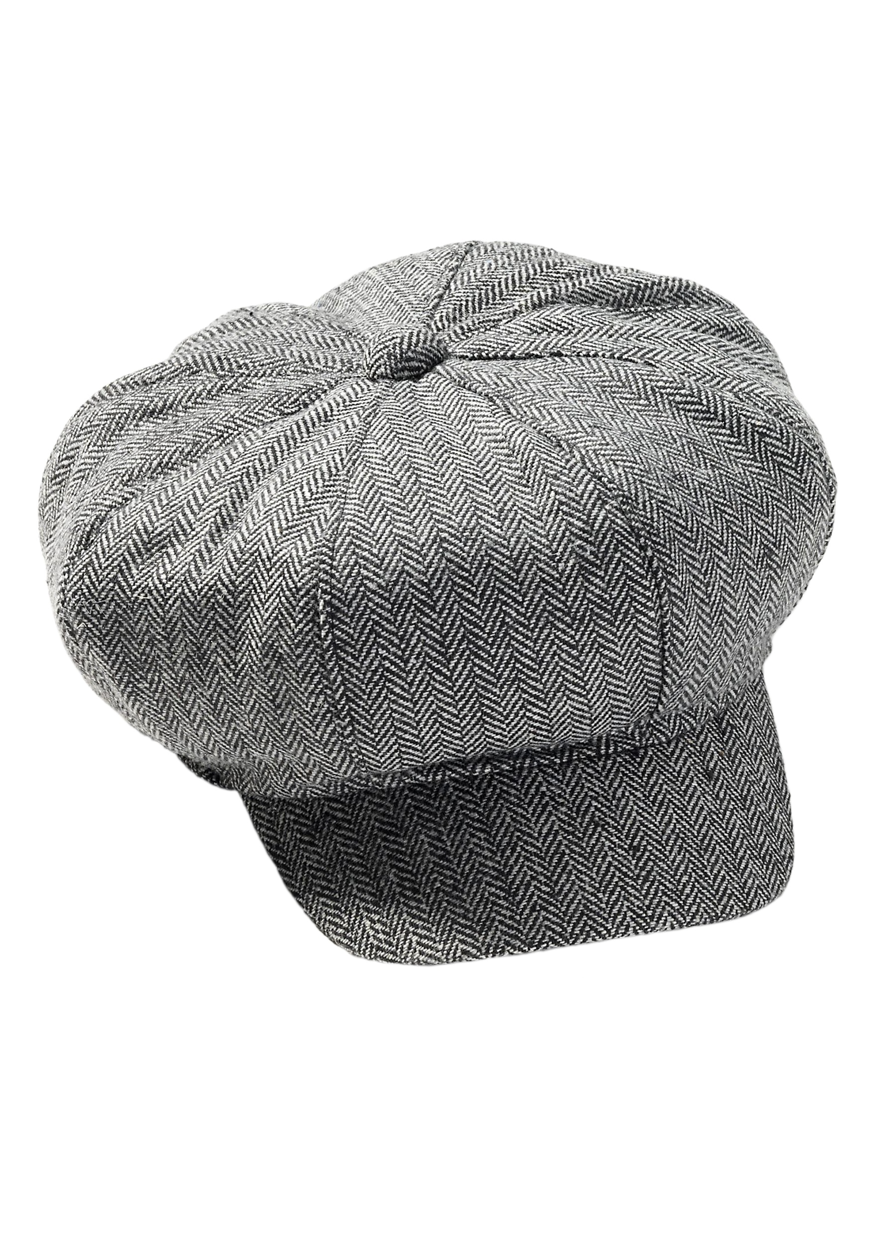 Tweed Newsboy Hat