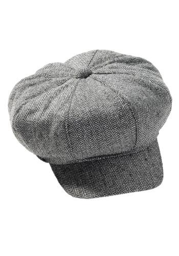 Tweed Newsboy Retro Hat
