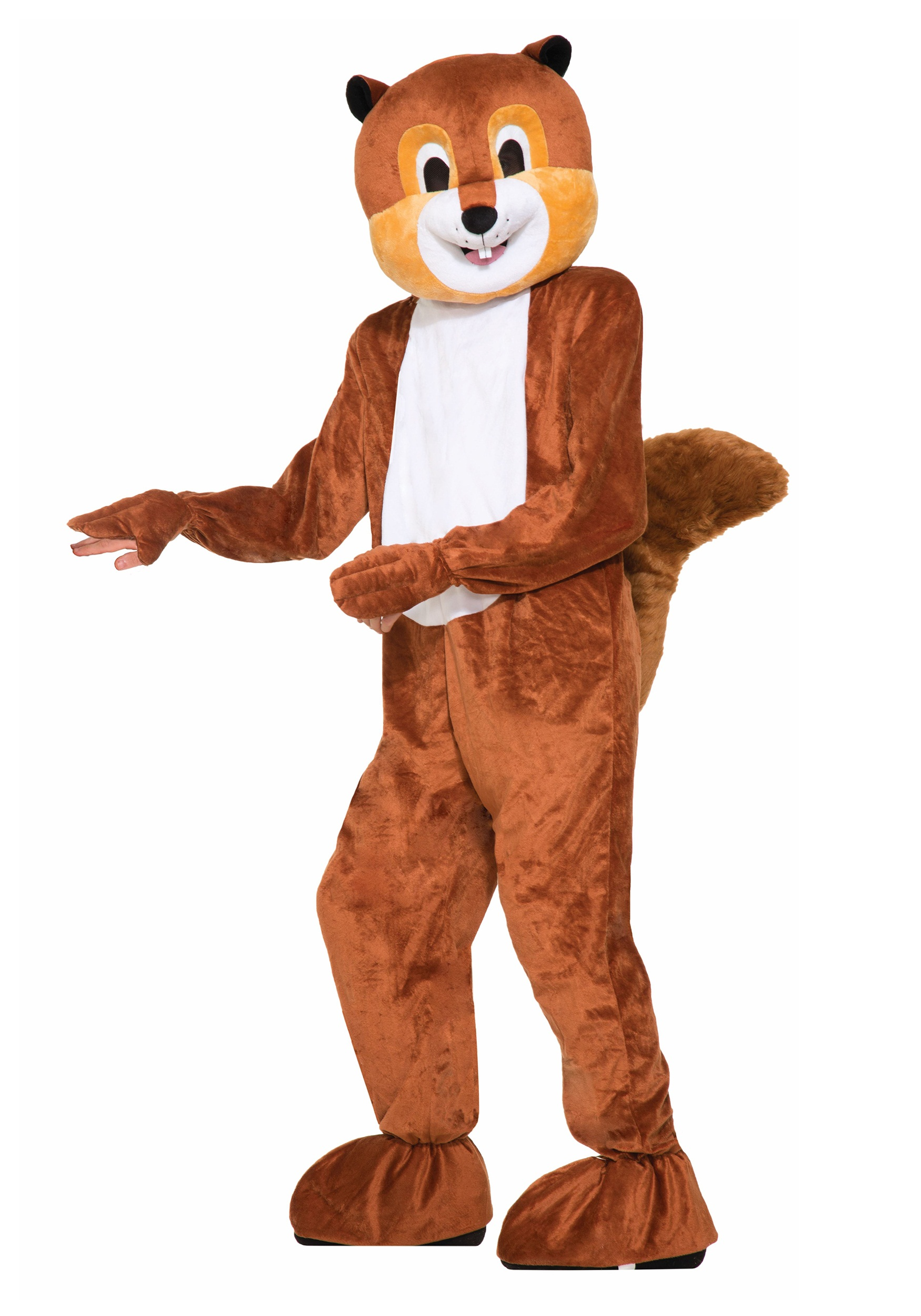 scamper the squirrel mascot costume