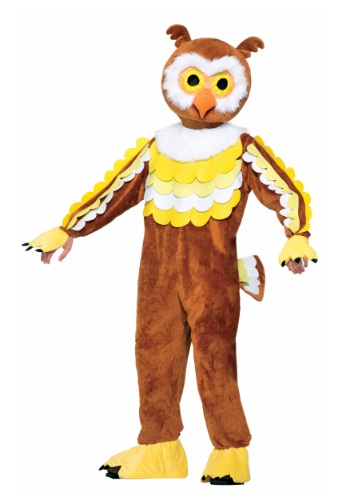 Give A Hoot Owl Mascot Costume