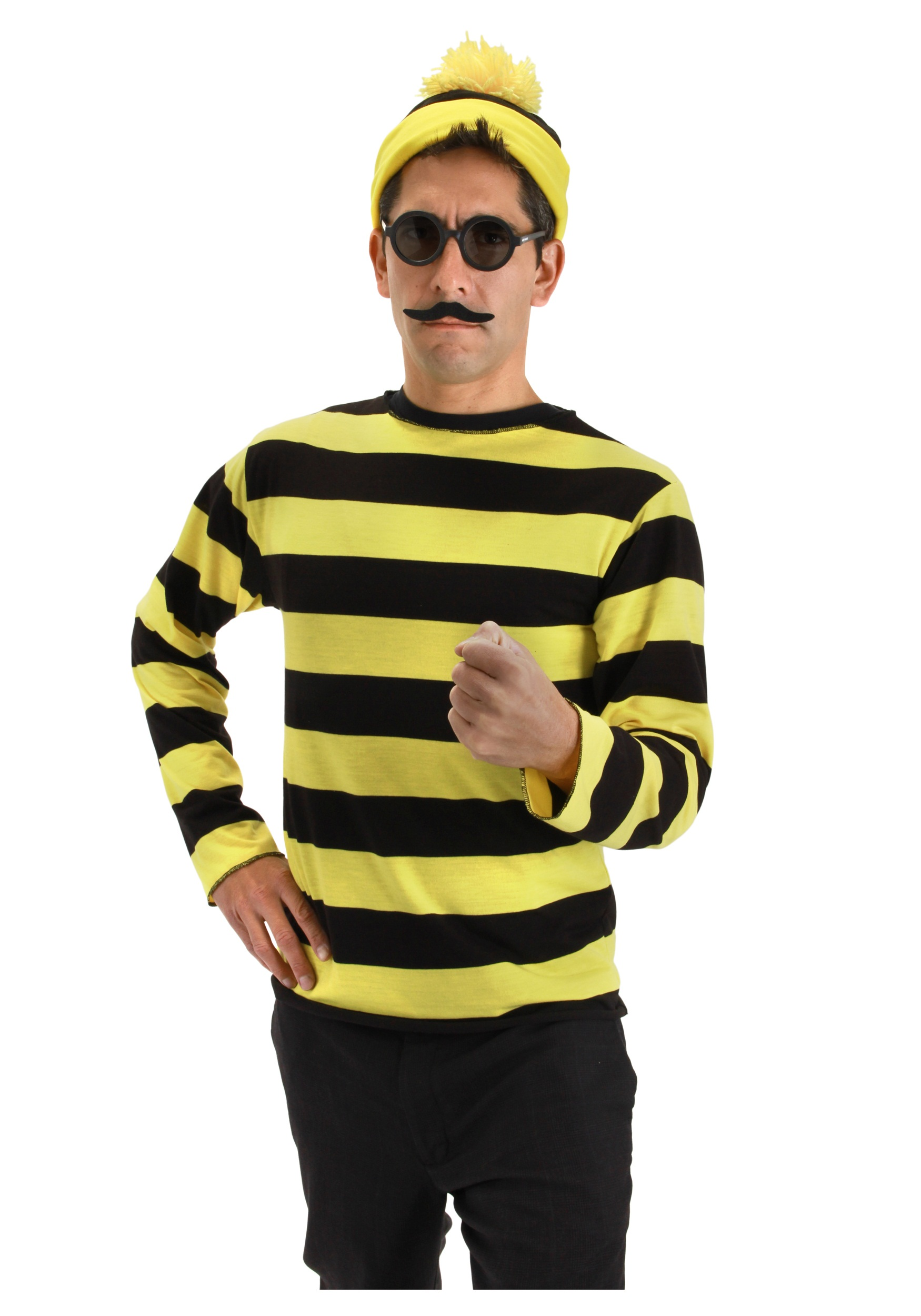 Cartoon Characters Yellow And Black Striped Shirts : Odlaw costume