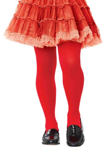 Click Here to buy Kids Red Tights from HalloweenCostumes, USA Funds & Shipping