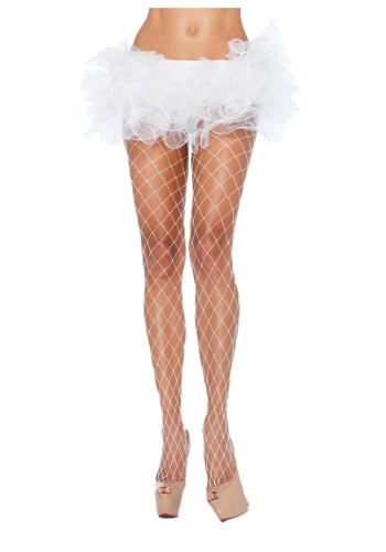 White Fence Net Pantyhose By: Leg Avenue for the 2015 Costume season.