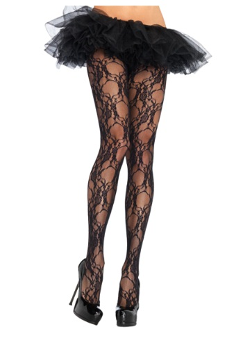 Floral Lace Pantyhose By: Leg Avenue for the 2015 Costume season.