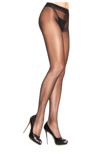 Black Sheer Spandex Pantyhose By: Leg Avenue for the 2015 Costume season.