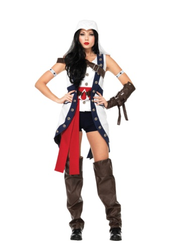 ASSASSIN'S CREED CONNOR WOMEN'S COSTUME - 2019 Edgy Halloween Costumes