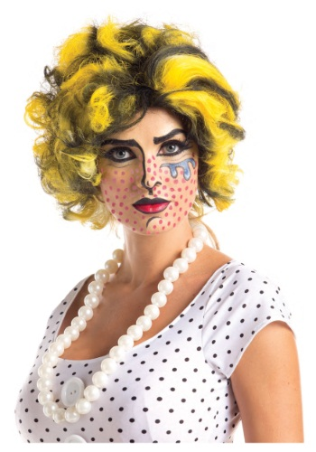 INOpets.com Anything for Pets Parents & Their Pets Pop Art Wig
