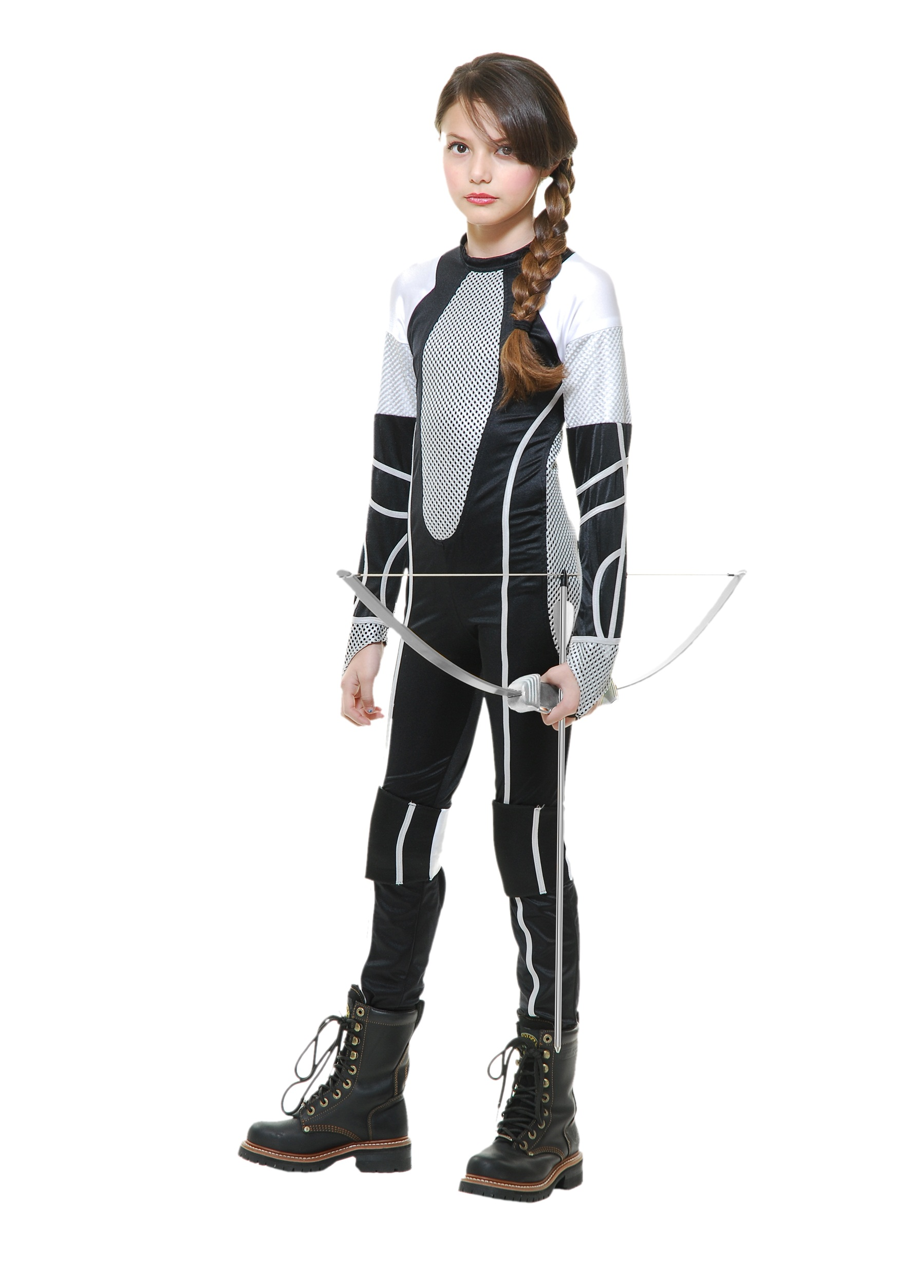 girls huntress halloween costume & dc comics huntress black costume