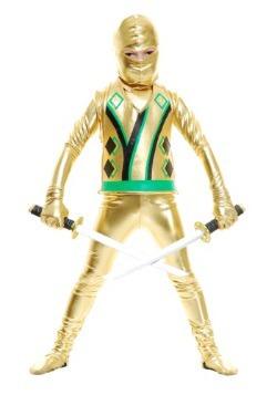 Toddler Gold Ninja Avengers Series III Costume