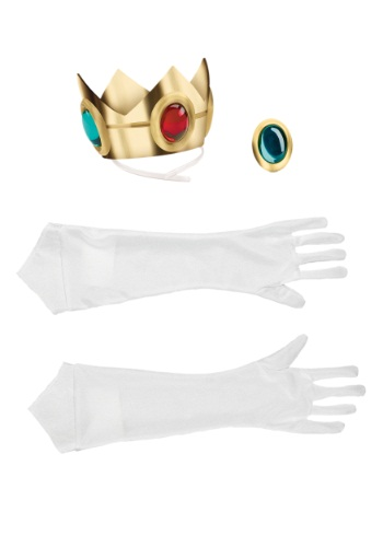 Click Here to buy Princess Peach Adult Accessory Kit from HalloweenCostumes, USA Funds & Shipping
