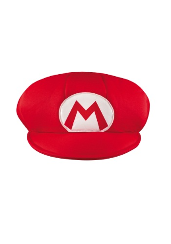 Click Here to buy Mario Adult Hat from HalloweenCostumes, USA Funds & Shipping