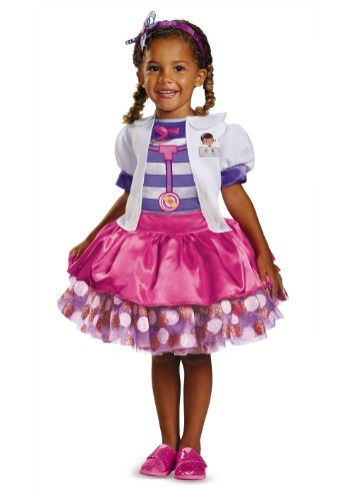 Doc McStuffins Tutu Deluxe By: Disguise for the 2015 Costume season.