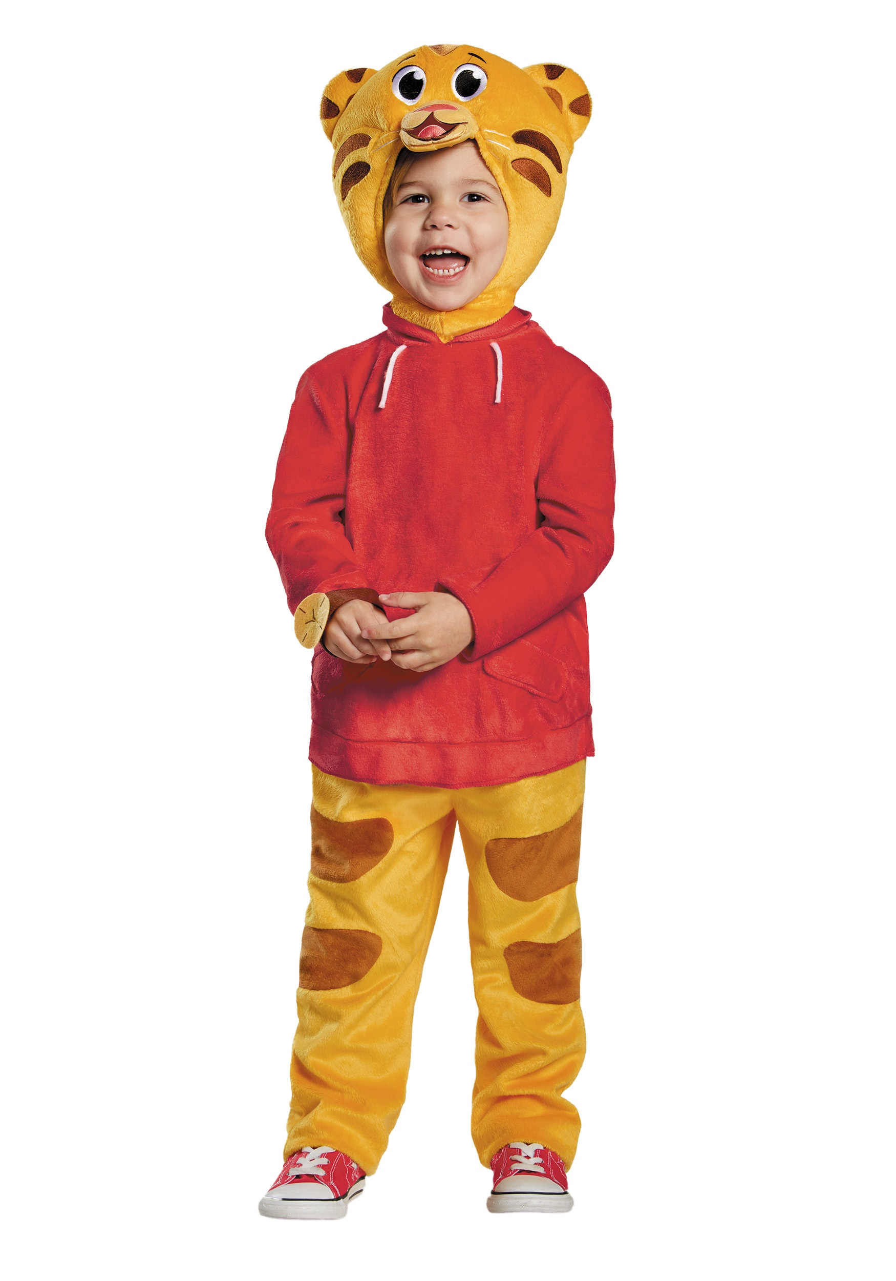 Daniel Tiger Deluxe Toddler  sc 1 st  Halloween Costumes & Daniel Tiger Deluxe Toddler Costume