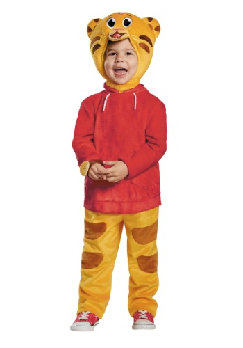Daniel Tiger Deluxe Toddler Costume By: Disguise for the 2015 Costume season.
