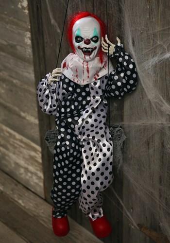 Leg Kicking Clown on Swing SU85908-ST