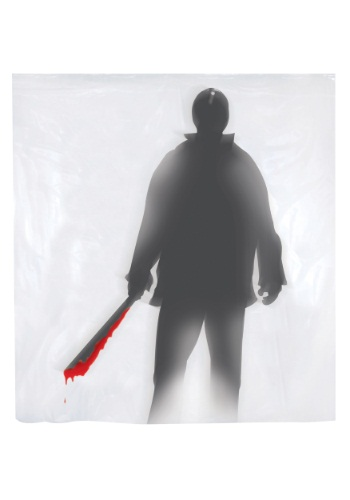 Machete Killer Shower Curtain By: Sunstar for the 2015 Costume season.