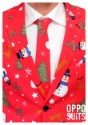 Mens Red Christmas Suit4