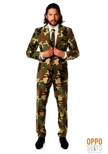 Mens OppoSuits Camo Suit