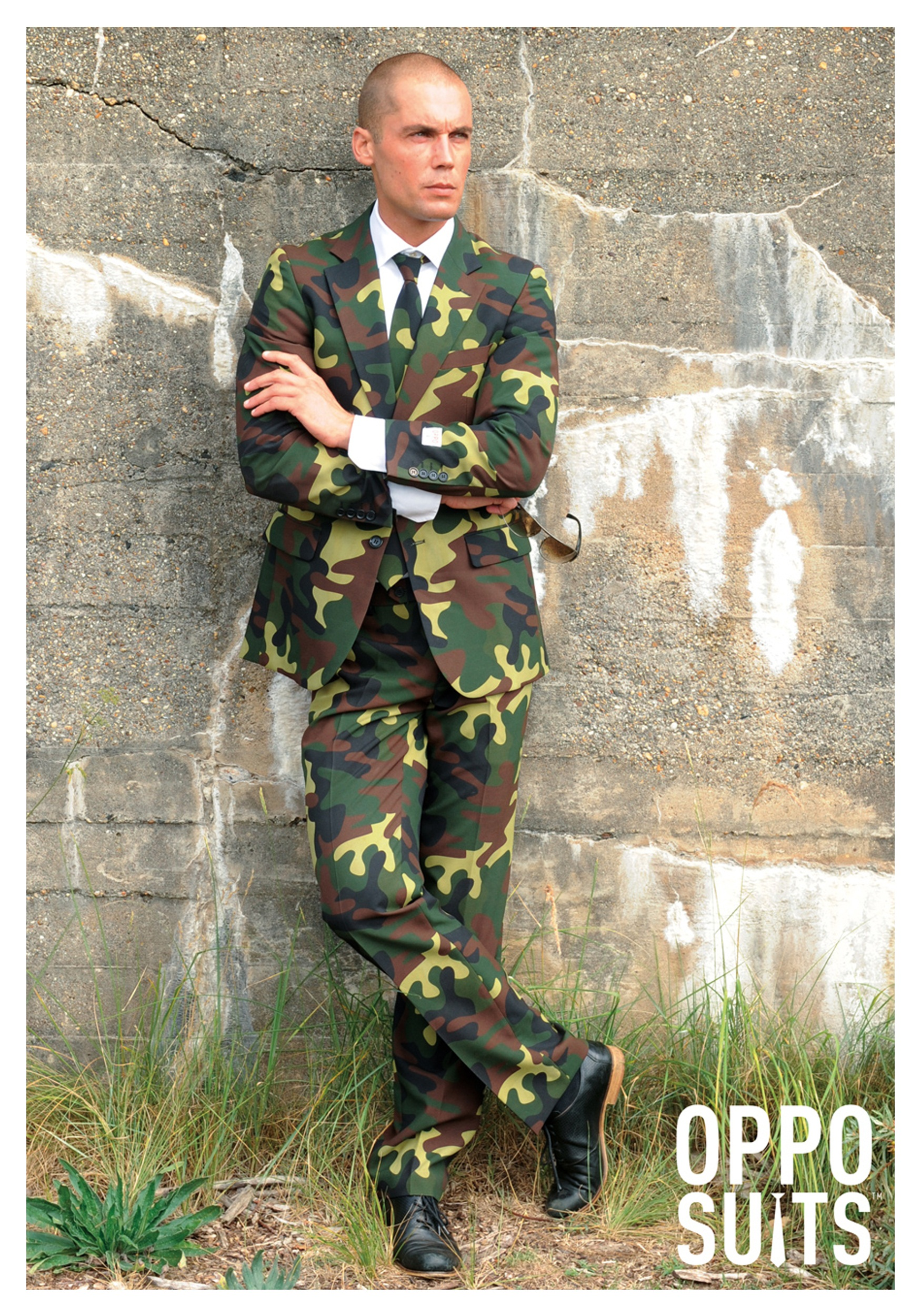 Men S Opposuits Camo Costume Suit