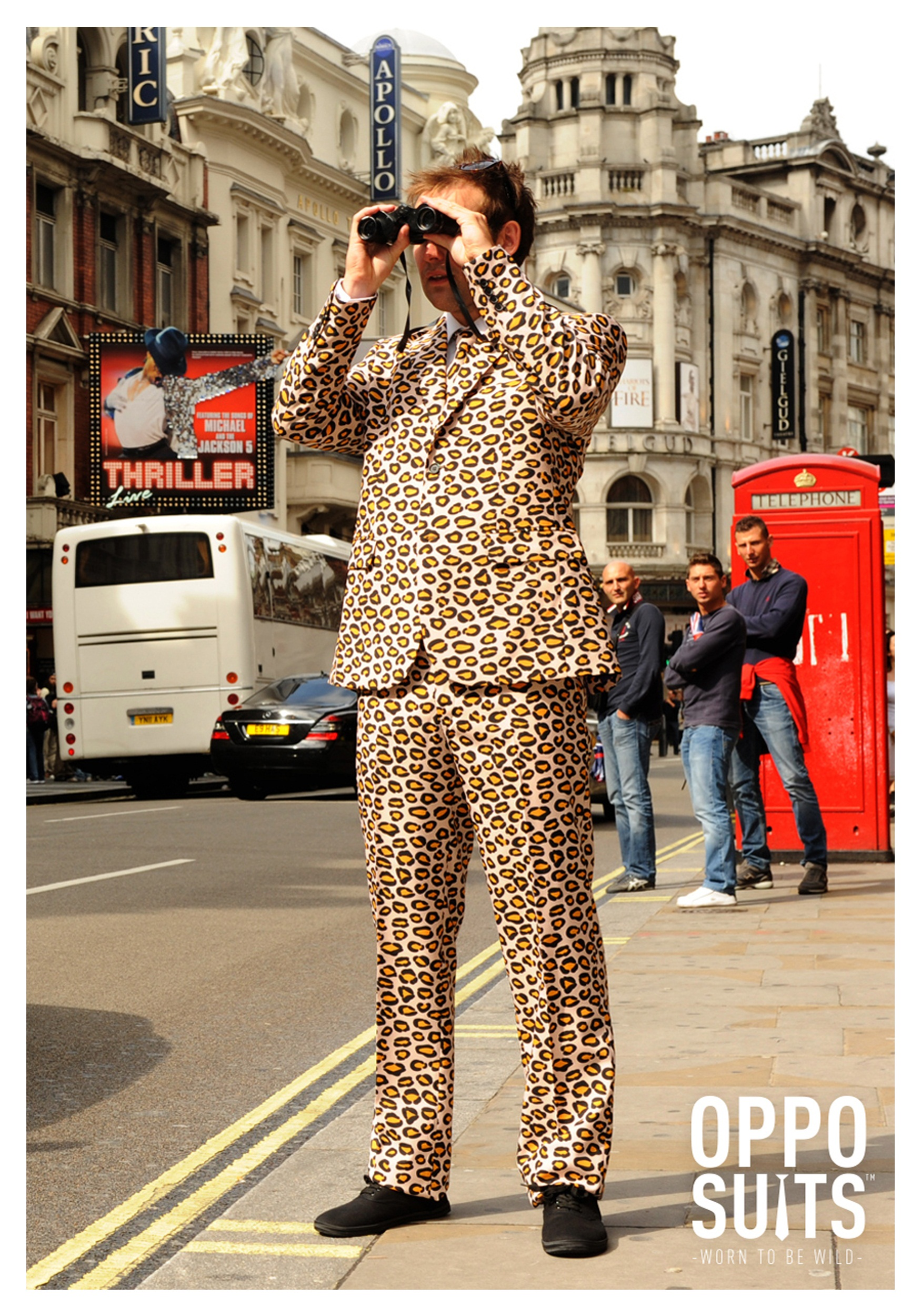 Men S Jaguar Print Suit Opposuits Costume
