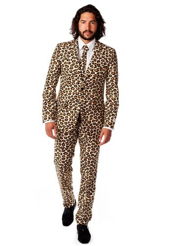 Mens OppoSuits Jaguar Print Costume Suit