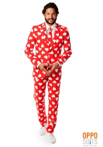 Mens OppoSuits Mr. Lover Heart Suit By: Opposuits for the 2015 Costume season.