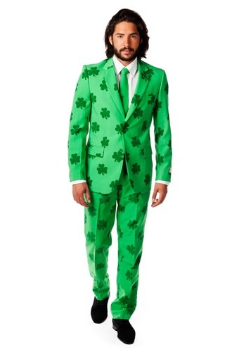 Mens OppoSuits Green St. Patricks Day Costume Suit